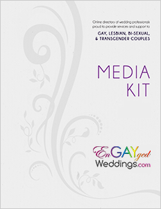 EnGAYged Weddings Media Kit