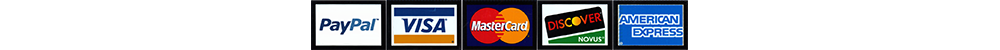 EnGAYged Weddings accepts Visa Master Card American Express Discover and Pay Pal